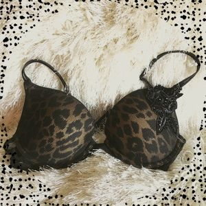 ✨Stunning VS leopard print bra✨